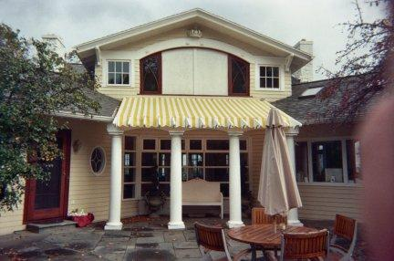 Custom Built Canvas Awnings (style and utility)