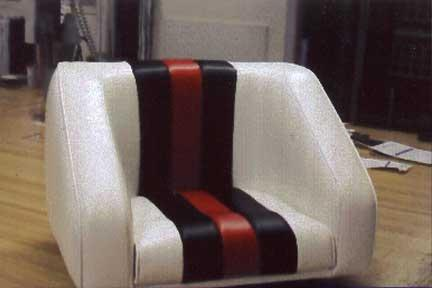 Custom Designed Re-Designed Upholstery and Seating (better than original)