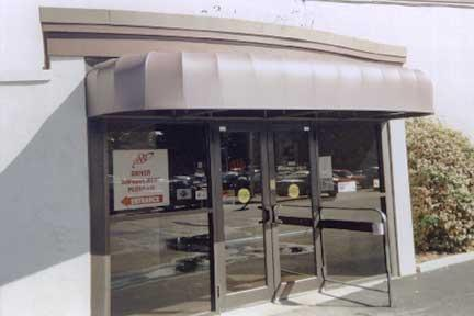 Custom Awnings (improve your 1st impression)