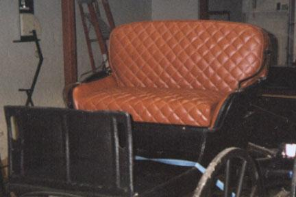 Upholstery (soften your ride)
