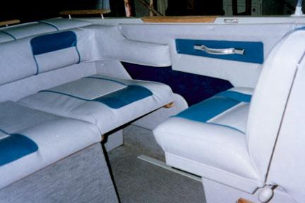 Boat Interior Upholstery (comfort and style)