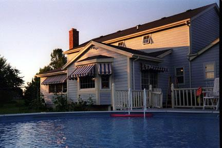 Custom Awnings (stay cool - we don't do pools!)